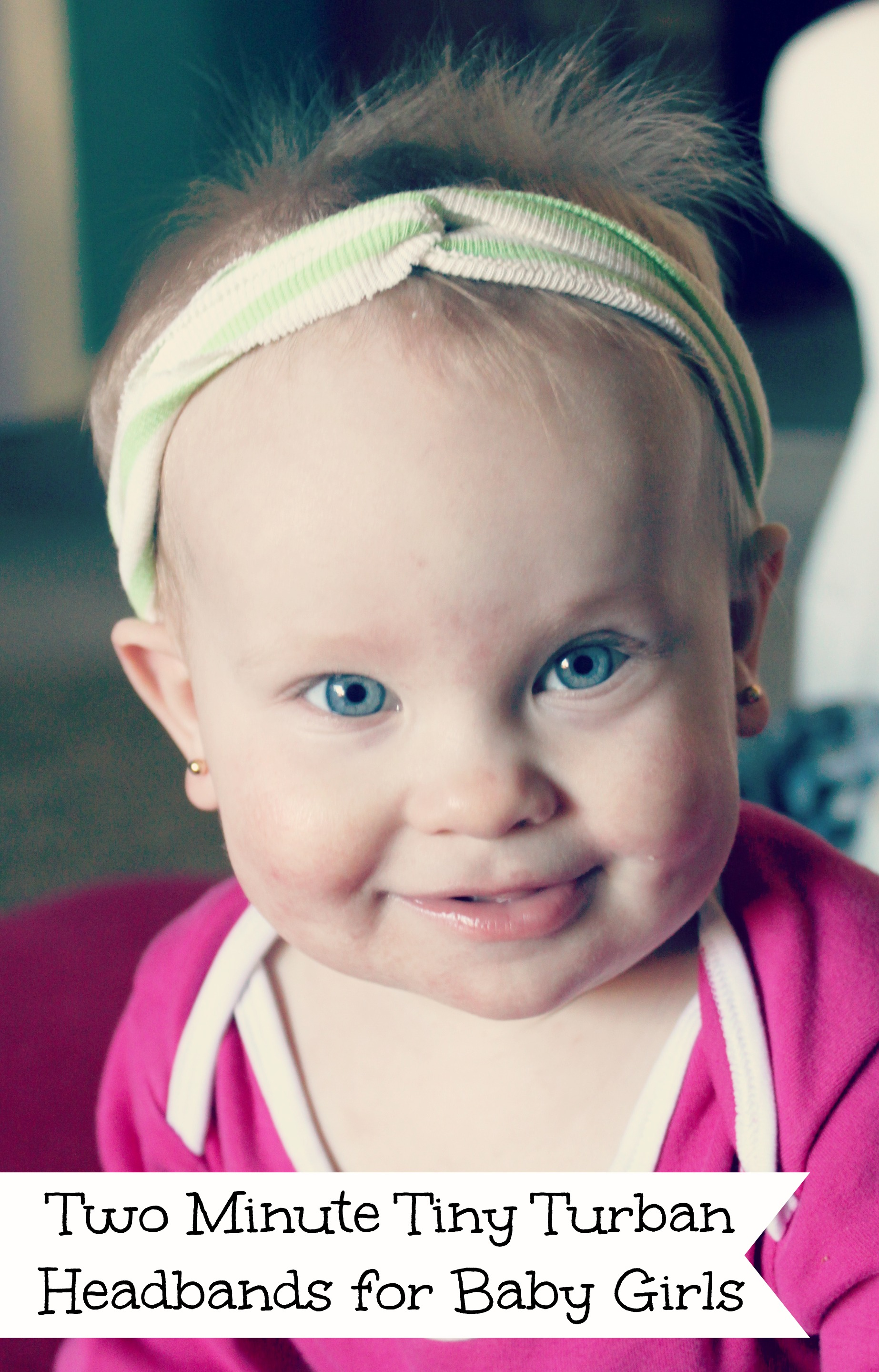 Two Minute Tiny Turban Headbands for Baby and Toddler Girls  with ... b633f85669f