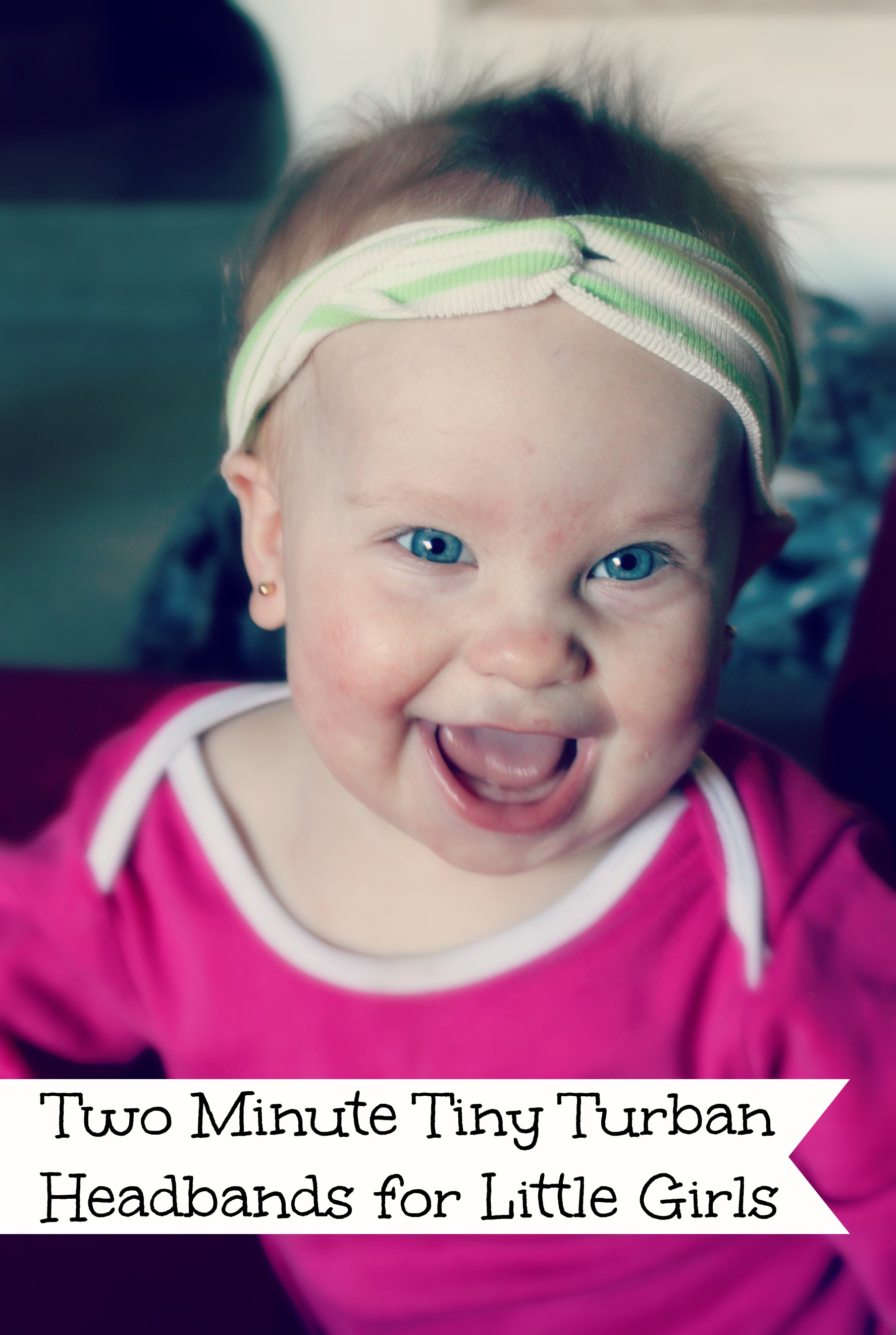 Two minute tiny turban headbands for baby and toddler girls with tinyturbanheadbands baditri Images