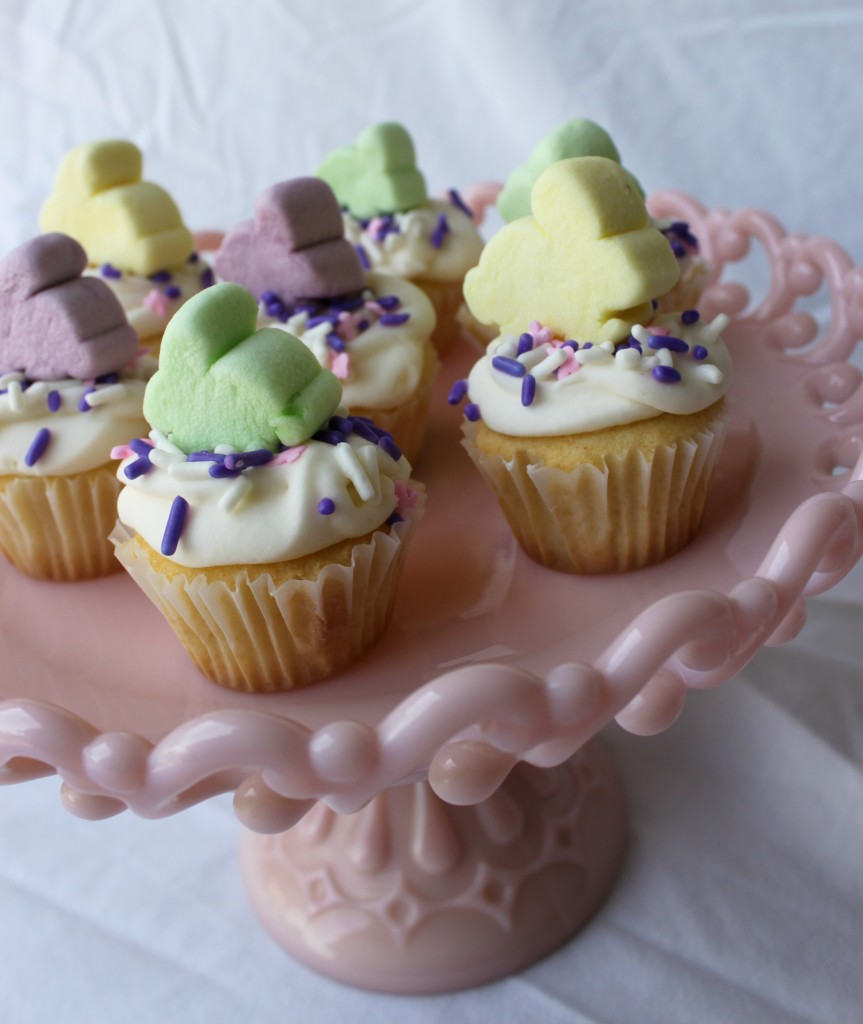 how to make bunny feet for cupcakes