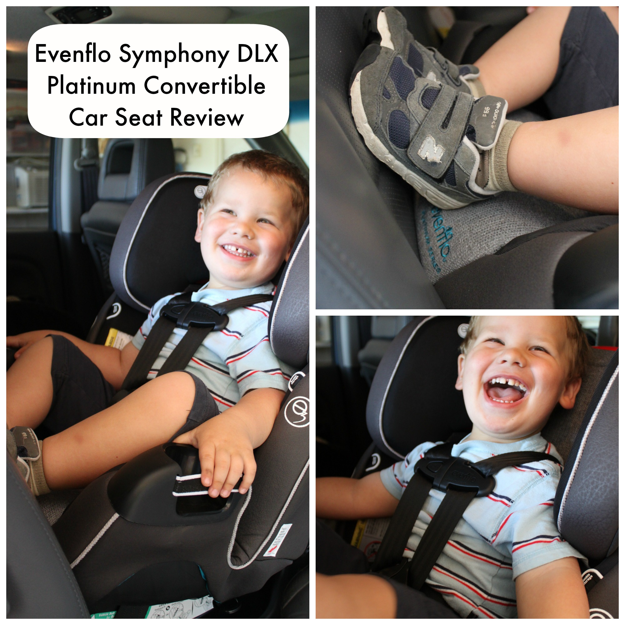 Evenflo Symphony DLX Platinum Convertible Car Seat Review ~ The Only ...