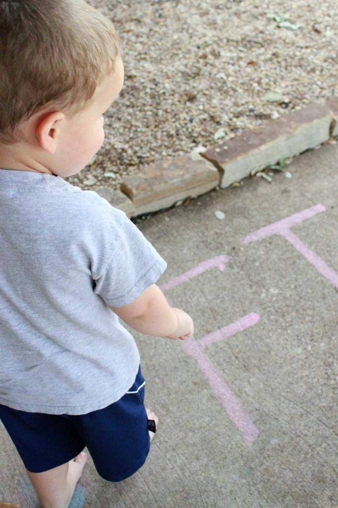 sidewalkchalkpaintletters
