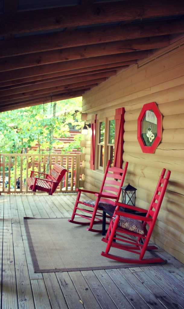 hiddenmountainporch 610x1024 The Great Smoky Mountains Getaway Giveaway!