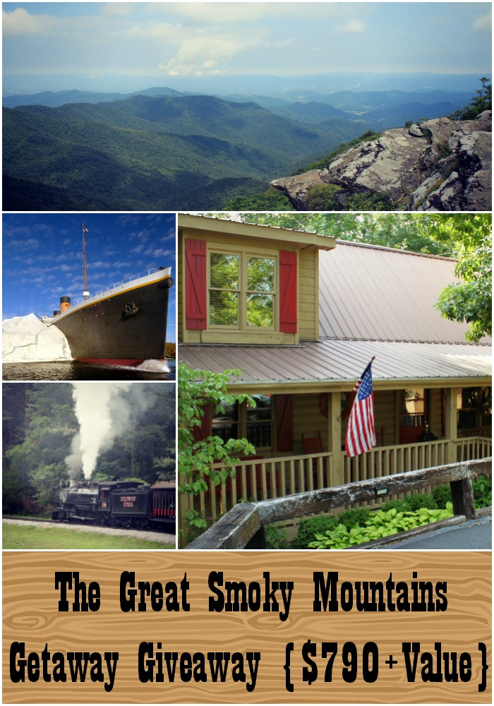 smokymountainsgiveawayxl The Great Smoky Mountains Getaway Giveaway!