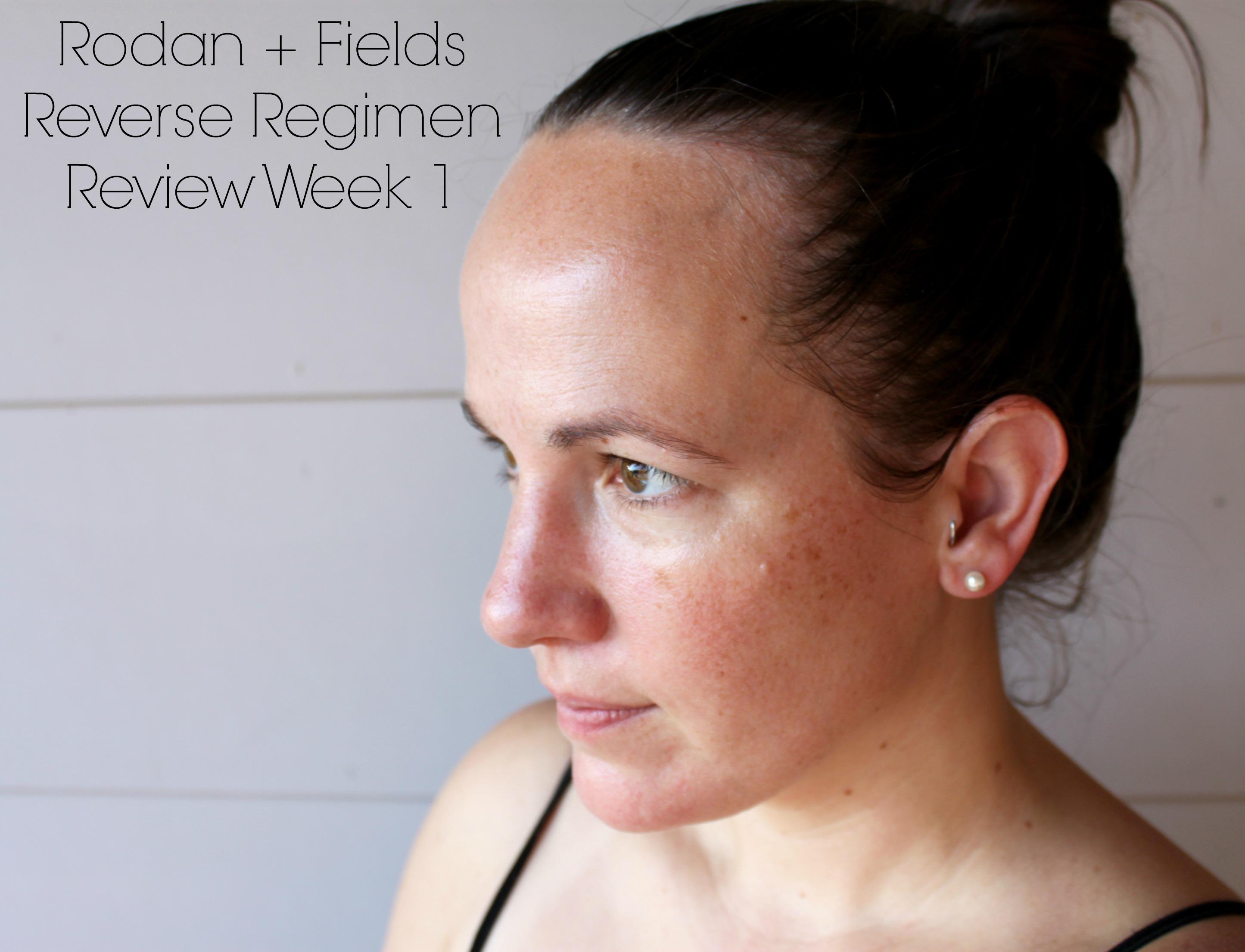 Trying The Rodan Fields Reverse Regimen Skin Care Review