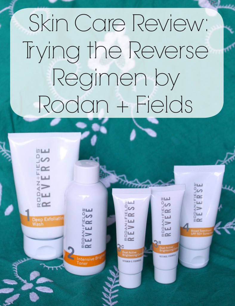 rodan+fields reverse regimen review