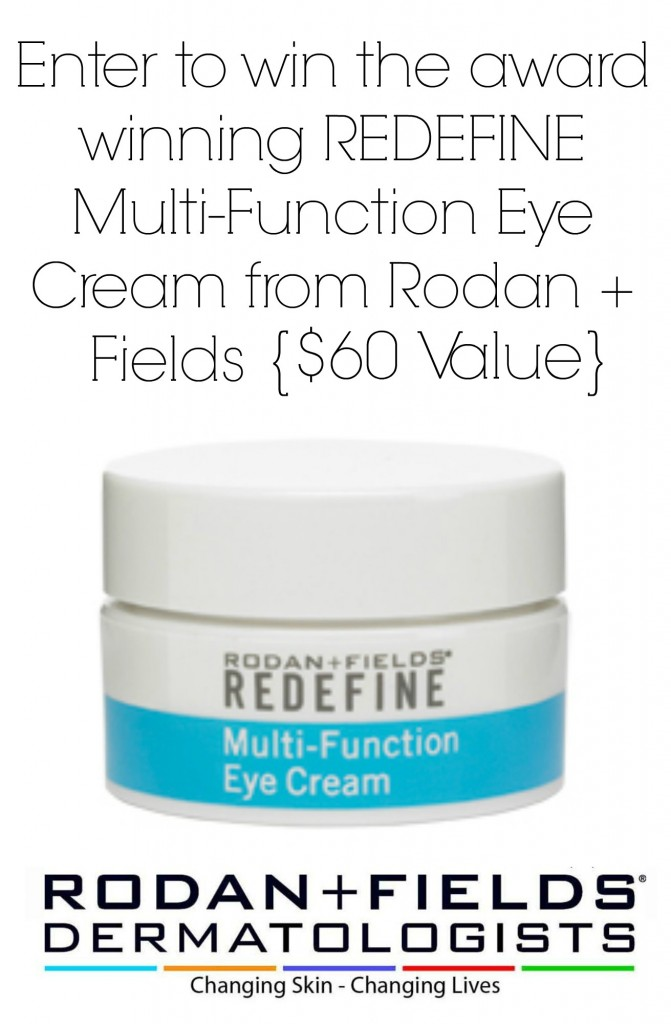rodan + fields giveaway eye cream