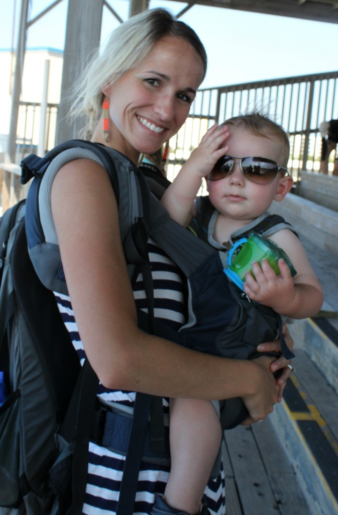 babywearing at gulfarium