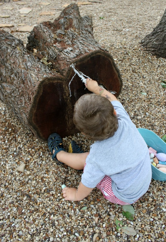 diy outdoor play structure from reclaimed wood