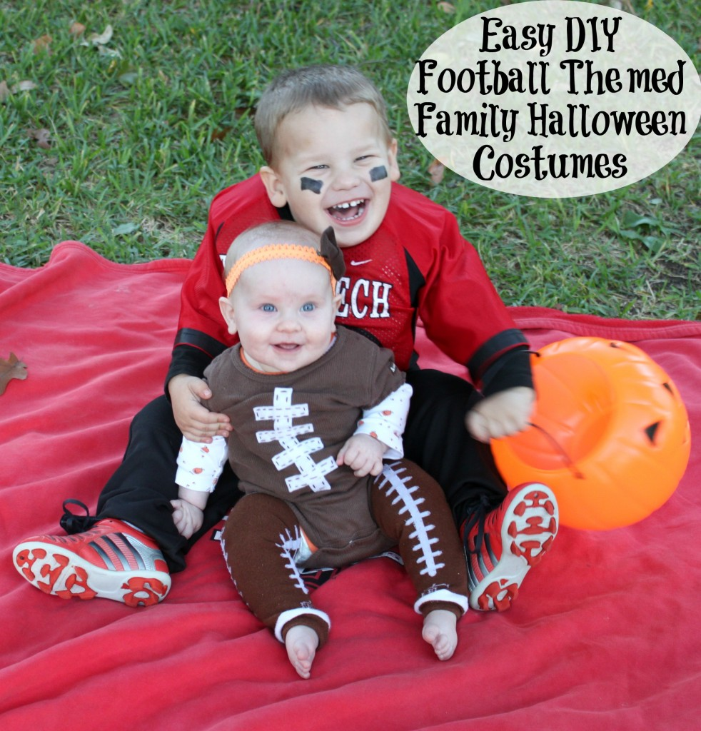 easy diy football themed family halloween costumes