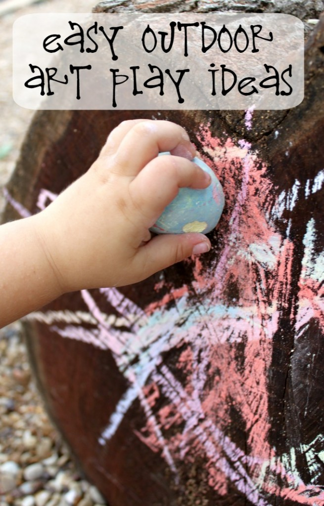 Simple Outdoor Number Activities For Kids: Simple Toddler Play