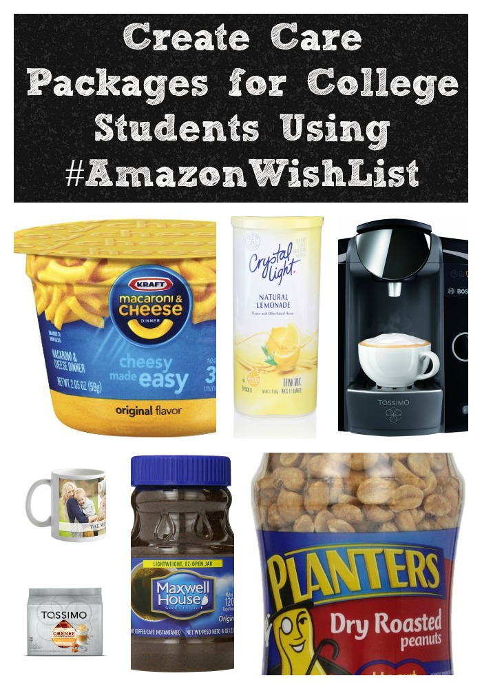 Create Care Packages for College Students #AmazonWishList #AmazonHasIt #shop