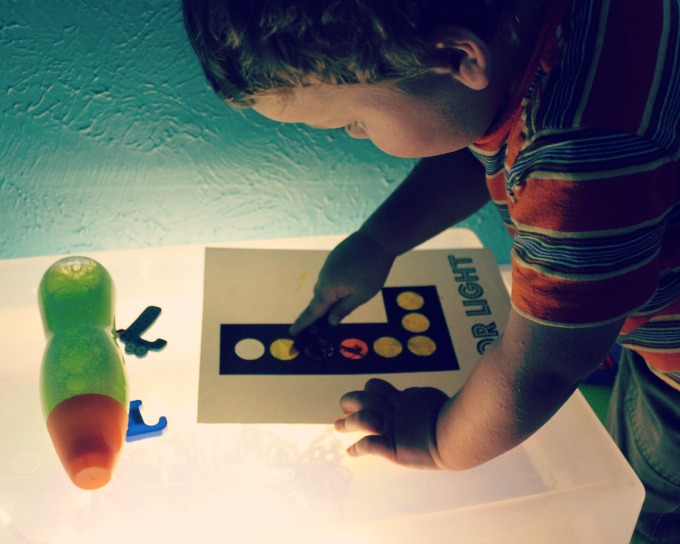L is for Light ABC activities