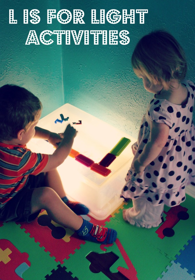 L is for Light Activities 31 Days of ABC