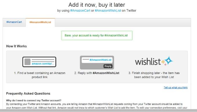 #amazonhasit #amazonwishlist link your twitter account #shop