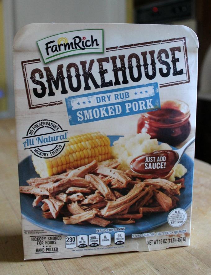 dry rub smoked pork farmrich #smokehousebbq #ad