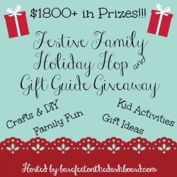 festive family holiday hop and gift guide giveaway button