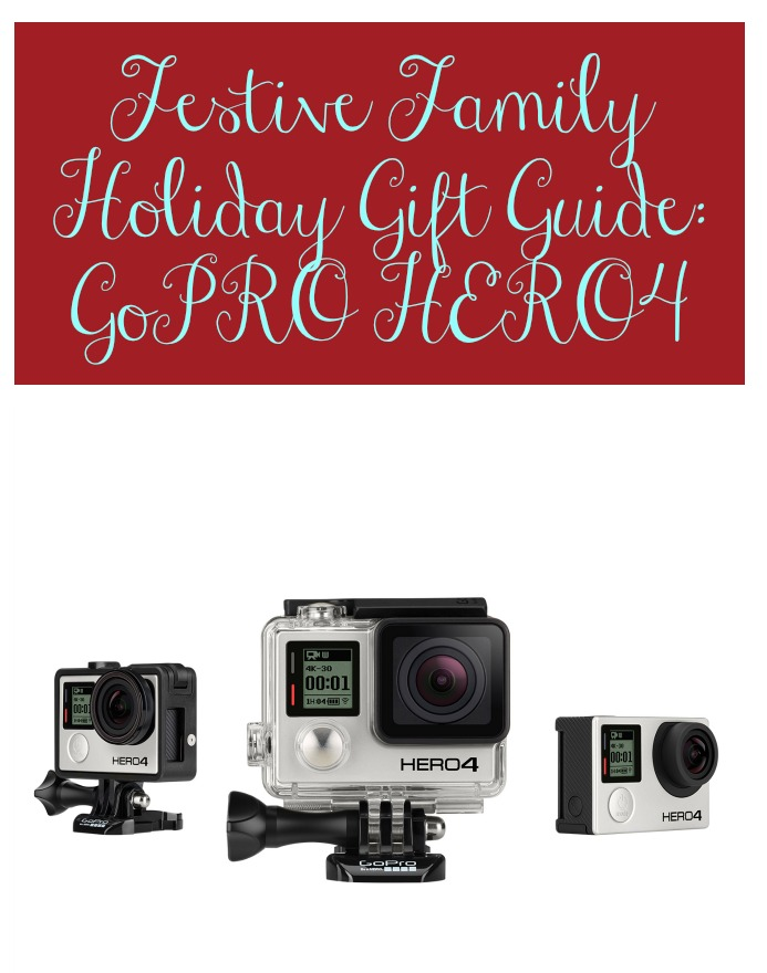 #goproatbestbuy Holiday Gift Guide Ideas GoPRO HERO4