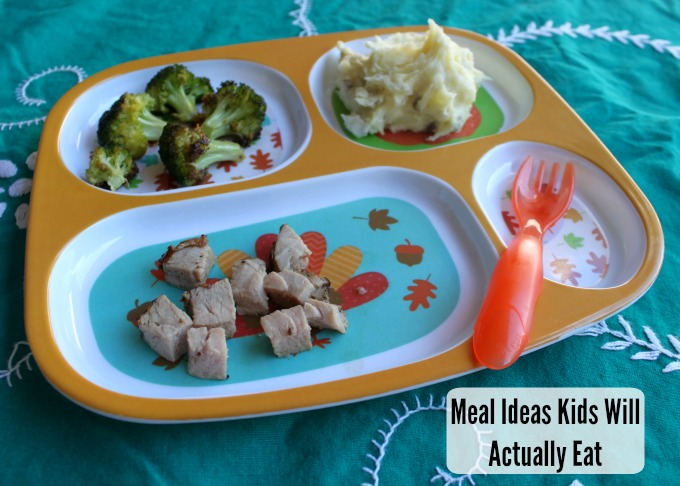 meal ideas kids will actually eat #putporkonthemenu #pmedia #ad