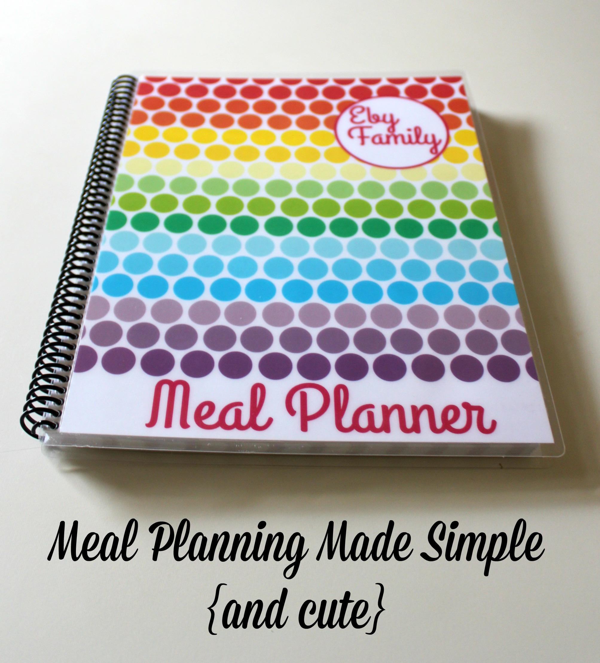 Enter to win a super cute Carrie Elle Meal Planner {$25 value}!