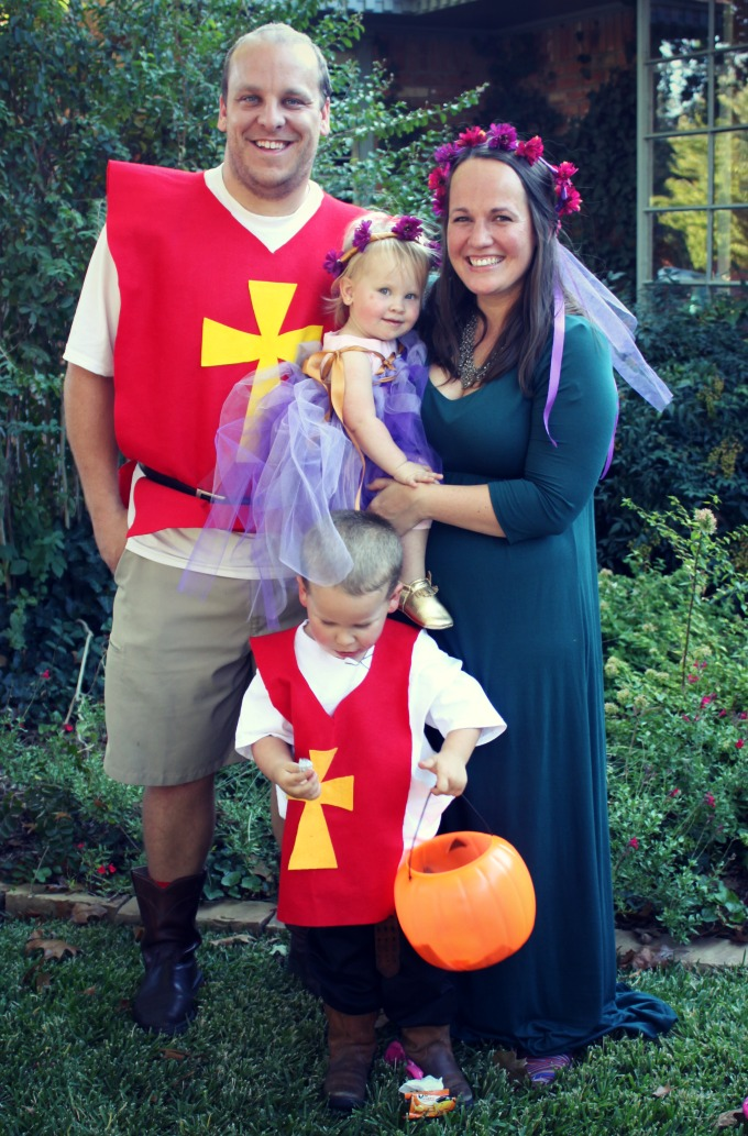 our 2014 family halloween costumes knights and princesses bare