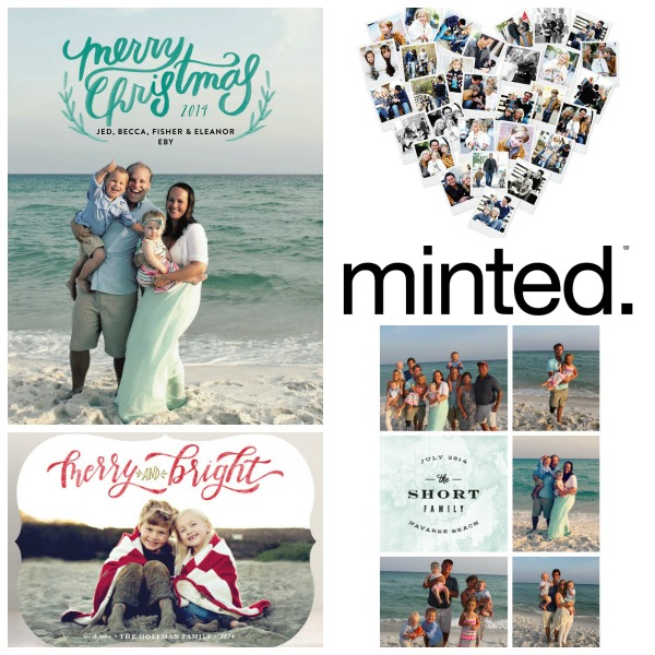 minted collage holiday