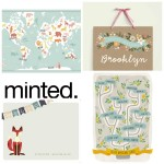 minted kids collage