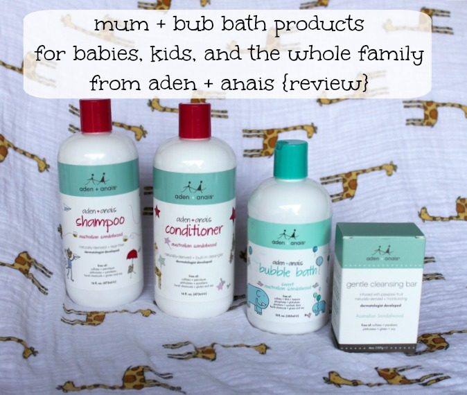 mum and bub by aden and anais review