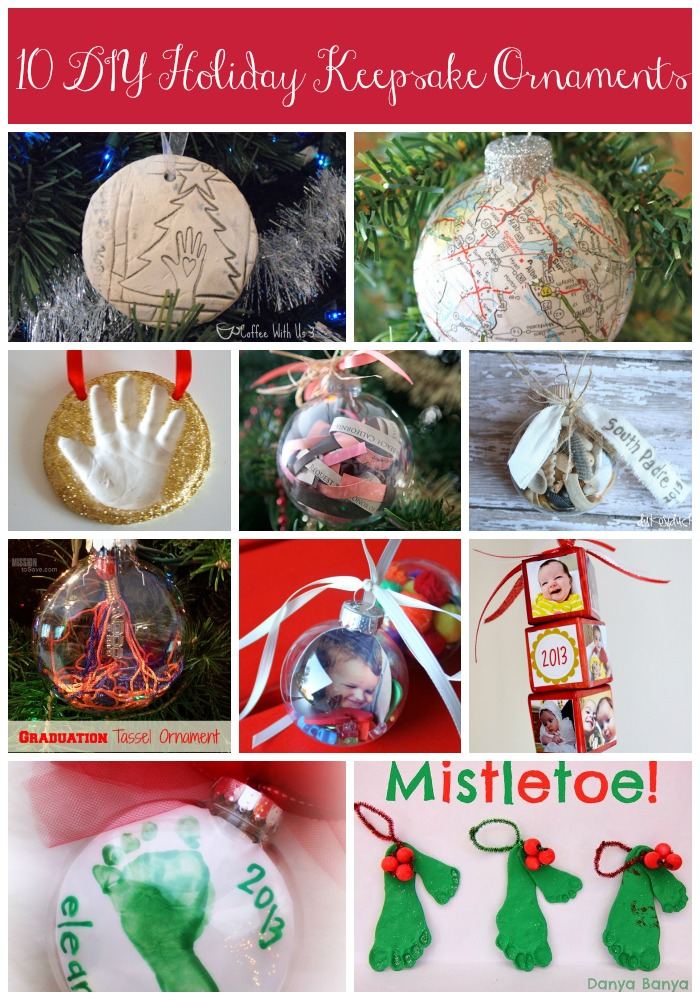10 DIY Holiday Keepsake Ornaments