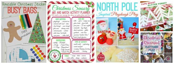 Preschool and Toddler Christmas Fun Ideas