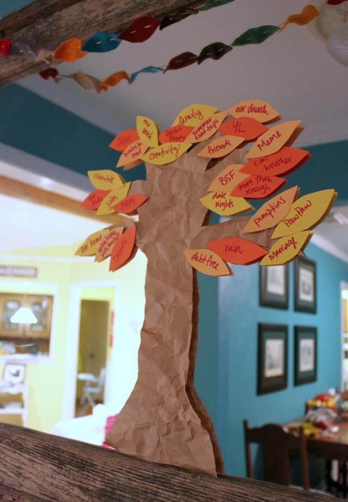 Thankful Tree for Thanksgiving