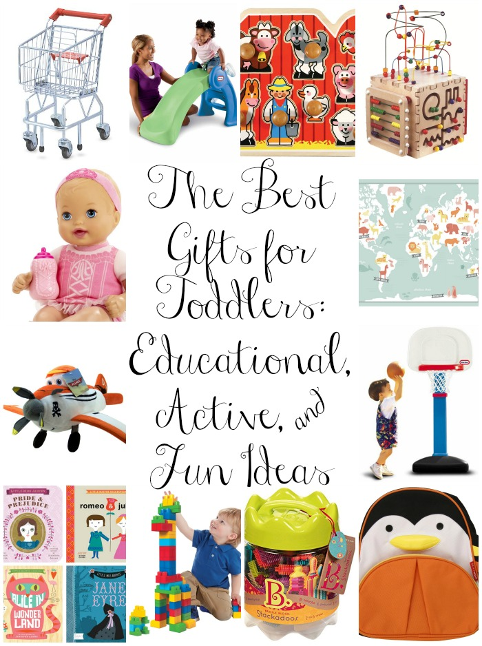 The Best Gifts for Toddlers Educational Active Fun Ideas