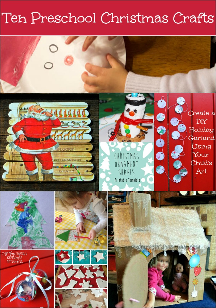 Top Ten Preschool Christmas Crafts