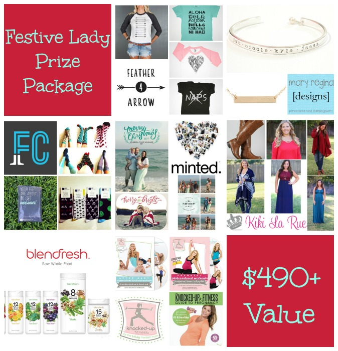 festive lady prize package