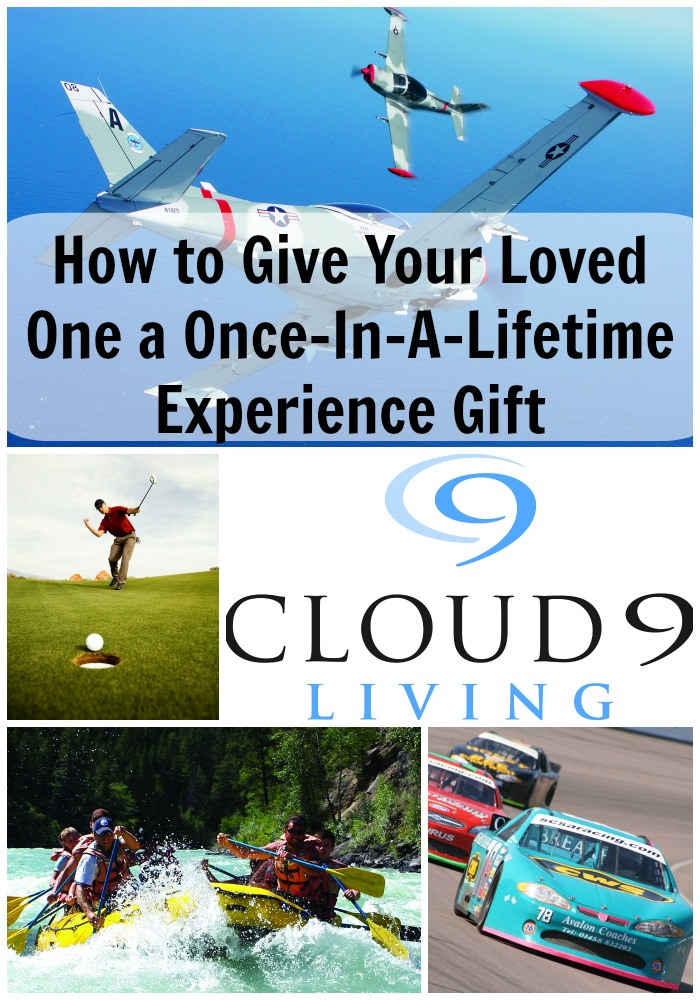 Give Your Loved One a Once In a Lifetime Experience Gift with Cloud9 Living