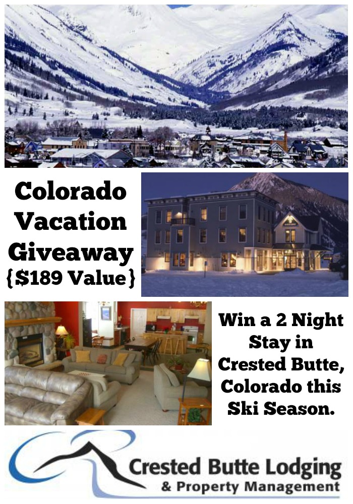 Win a Crested Butte Vacation
