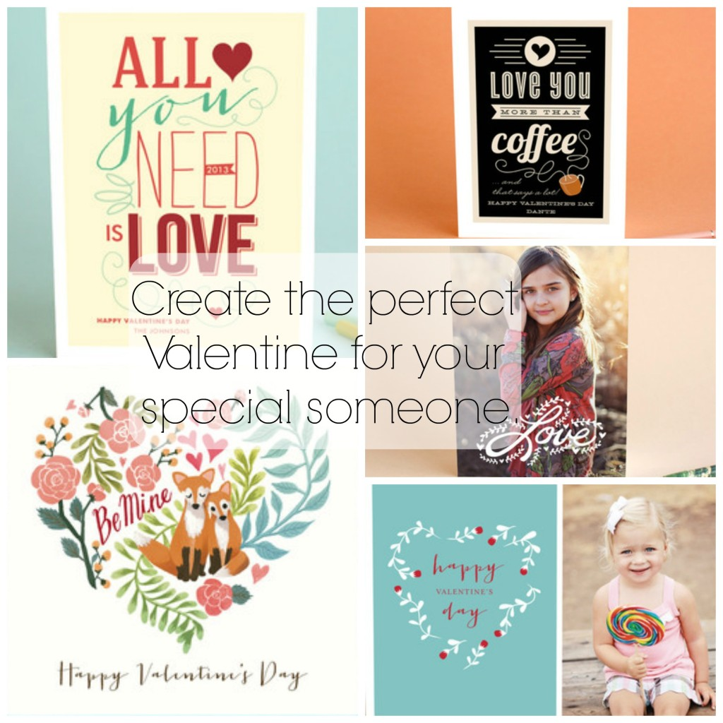 Create the perfect Valentine for your special someone at Minted.
