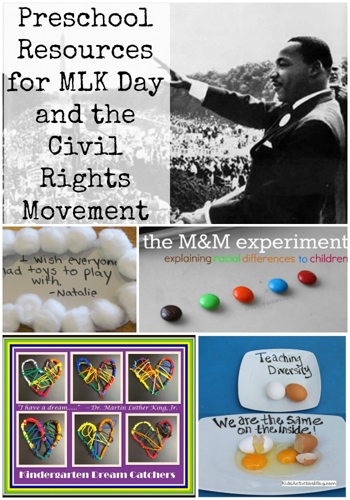 Preschool Resources About Dr Martin Luther King And Civil Rights How Do You Talk To Kids The