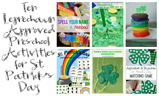 10 Leprechaun Approved Preschool Activities for St. Patrick's Day