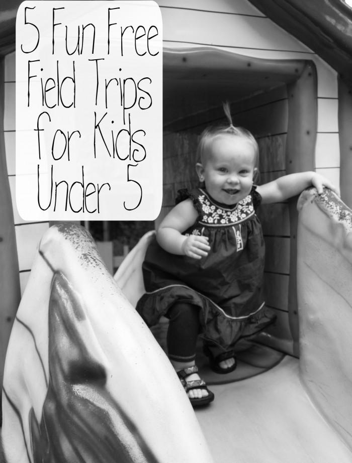 5 fun free field trips for kids under 5