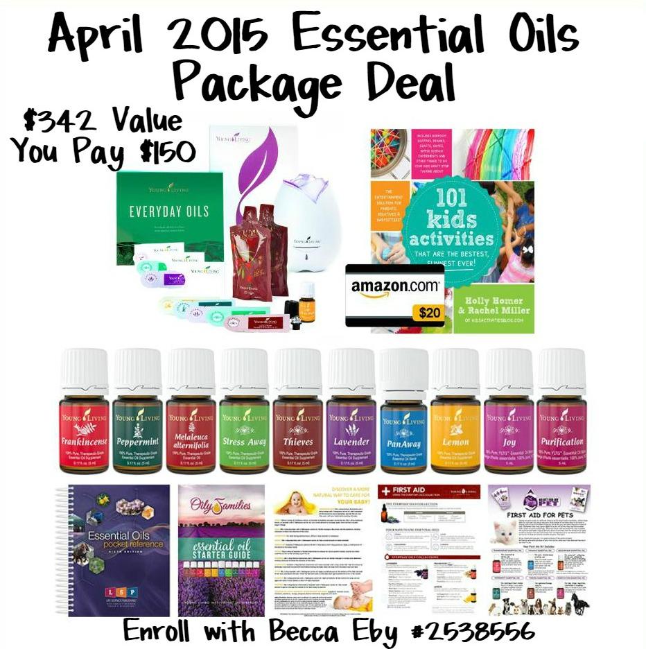 "Essential Oils Premium Starter Kit Deal with Code ""APRILSPECIAL"""