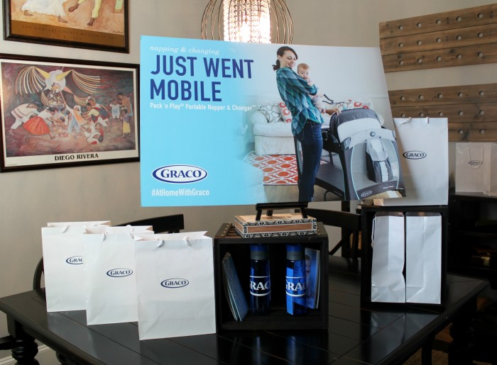 #AtHomewithGraco Party Favors