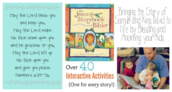 Bringing the Story of Samuel and King David to Life by Blessing and Anointing your Kids