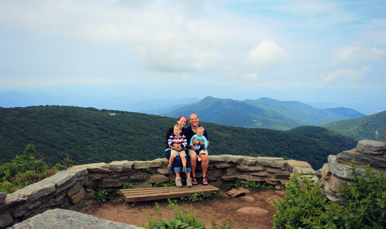 Hiking With Kids At Craggy Pinnacle Near Asheville North Carolina Craggy Pinnacle Trail At
