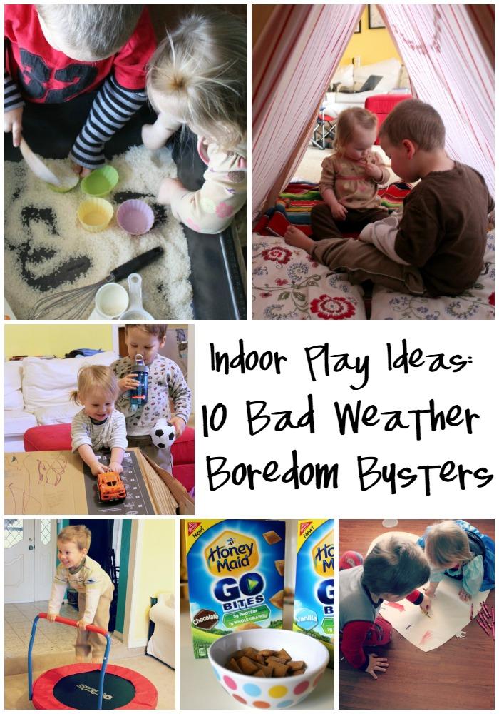 Indoor Play Ideas 10 Bad Weather Boredom Busters