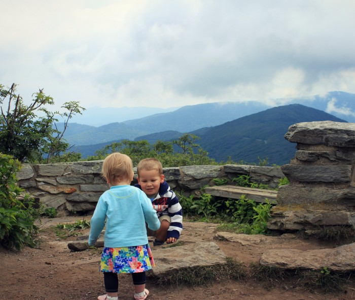 Kids Playing at Craggy Pinnacle