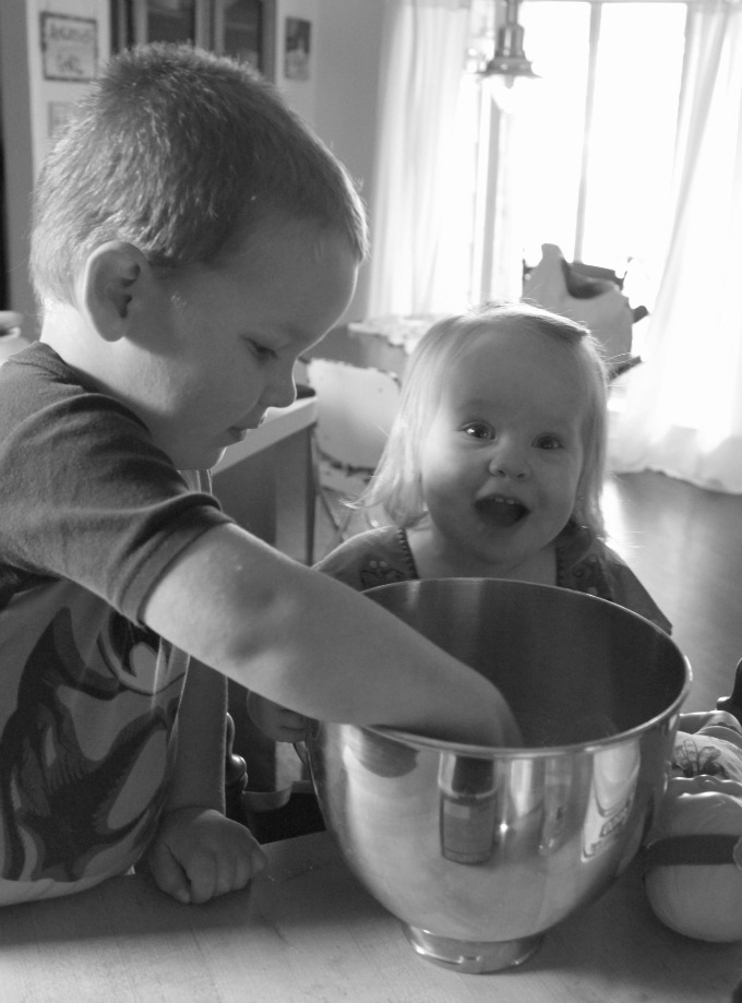Kids are so excited about making scented sensory dough