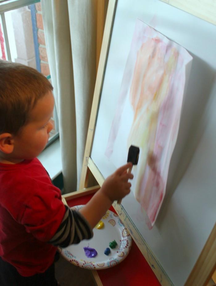 Preschool Painting Techniques