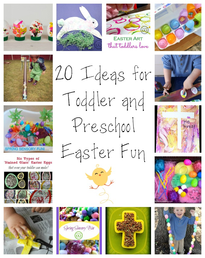 20 Ideas for Toddler and Preschool Easter Fun