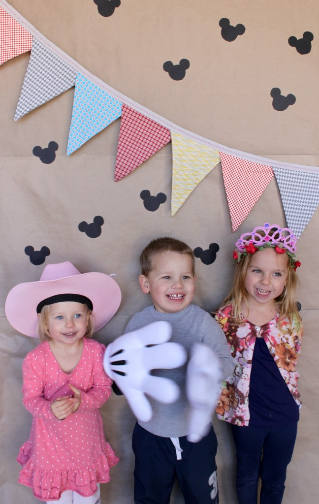 Our Easy Disney Side Photo Backdrop