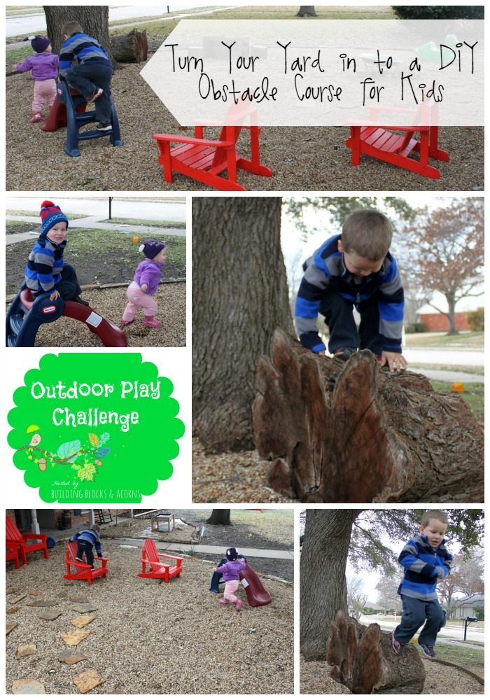 DIY Outdoor Obstacle Course Play Ideas For Kids Bare